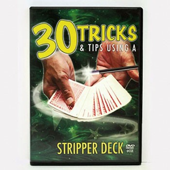 DISCONTINUED DVD- Stripper Deck Instruction: 30 Tricks