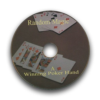DVD - A Winning Poker Hand *PREOWNED*