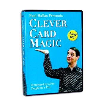 DISCONTINUED DVD- Clever Card Magic