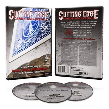 SOLD *CLOSEOUT* DVD SET- Cutting Edge Cards and Coins