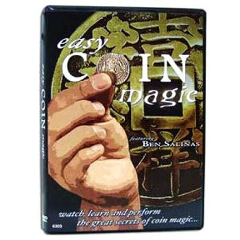 86 DISCONTINUED DVD- Easy Coin Magic