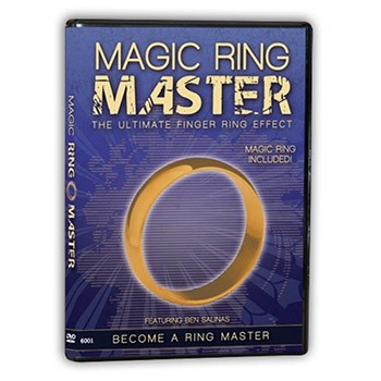 SOLD *CLOSEOUT* DVD- Magic Ring Master (With Ring)