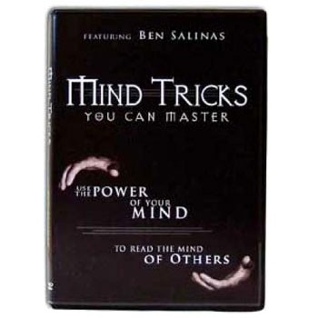 86 DISCONTINUED DVD- Mind Tricks You Can Master