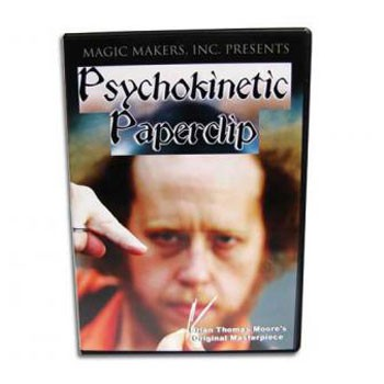 86 DISCONTINUED DVD- Psychokinetic Paper Clip