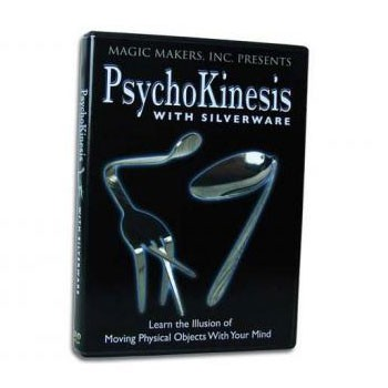 *CLOSEOUT* DVD- Psychokinesis with Silverware + ONLINE VIDEO