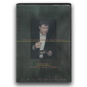 DVD - The Al Schneider Technique - Vol 1: Theory and Magic *PREOWNED*