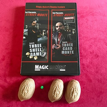 DVD- Street Monte with BONUS Three Shell Game