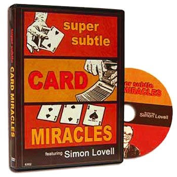 *CLOSEOUT* DVD- Super Subtle Card Miracles