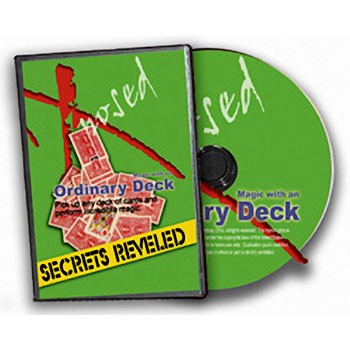 DVD- Tricks With an Ordinary Deck Secrets Revealed