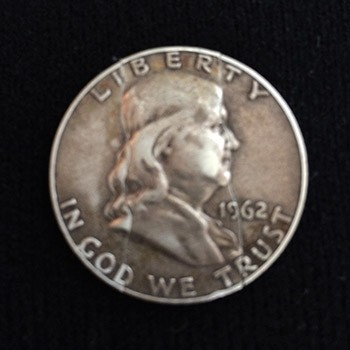 SOLD Folding Silver Franklin Half Dollar - PREOWNED