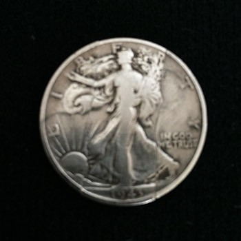 Folding Walking Liberty Half Dollar - PREOWNED