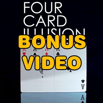 PASSWORD: Four Card Illusion Bonus Video