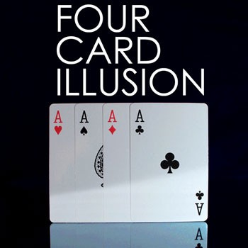 Four Card Illusion + ONLINE VIDEO