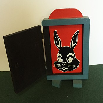 OSR Gene Gordon Fraidy Cat Rabbit - VINTAGE