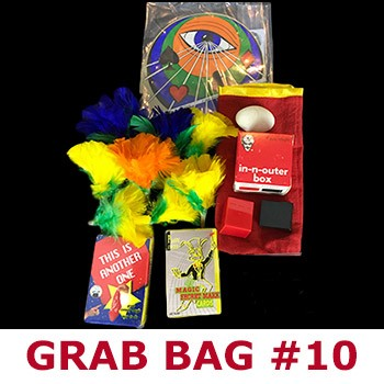 SOLD Magic Grab Bag #10 Including Feather Flowers *PREOWNED*