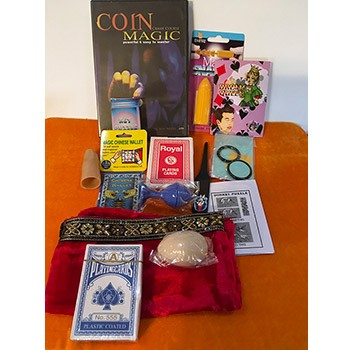 Magic Grab Bag #47 Including Coin Magic Course DVD *PREOWNED*