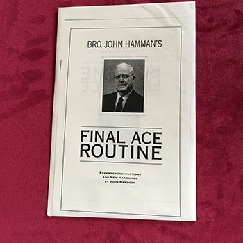 Bro. John Hamman's Final Ace Routine- SEALED *PREOWNED*