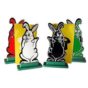 Silhouette Hippity Hop Rabbits +ONLINE VIDEO