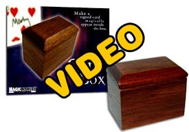 ONLINE VIDEO: Illusion Card Box