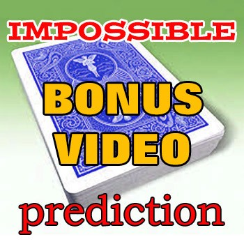 PASSWORD: Impossible Card Prediction Instruction Video