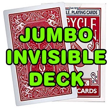 OSR Invisible Deck - Bicycle JUMBO