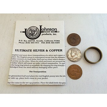 Johnson Ultimate Silver and Copper Set- PREOWNED