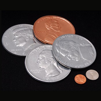 DISCONTINUED Jumbo Coin Set of SIX
