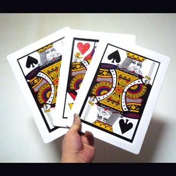 DISCONTINUED Three Card Monte- Jumbo
