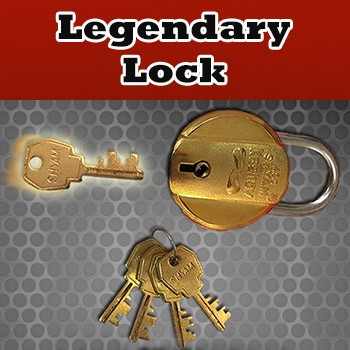 Legendary Lock + ONLINE VIDEO + TOOL