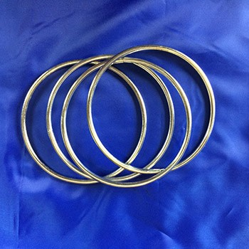 UltraThin Set of Four Linking Rings + ONLINE VIDEO