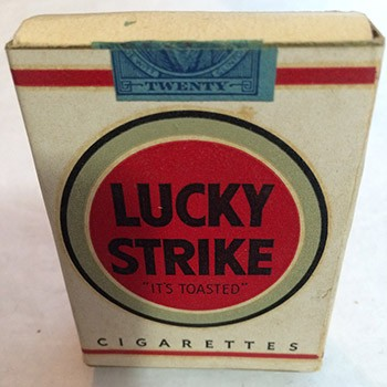 SOLD Lucky Strike Pack Production - VINTAGE