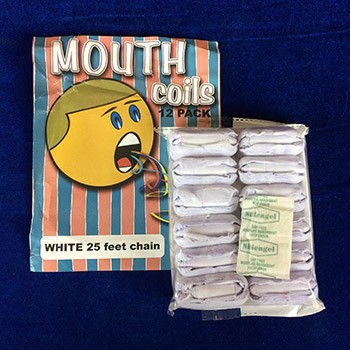Mouth Coils - WHITE