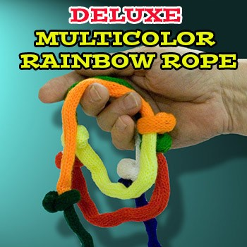 Deluxe Multicolor Rainbow Rope