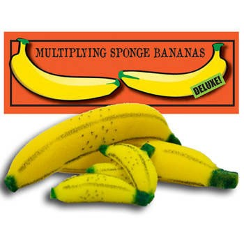Multiplying Sponge Bananas - Deluxe Set
