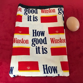 SOLD WINSTON Novelty Egg Bag With Egg *PREOWNED*