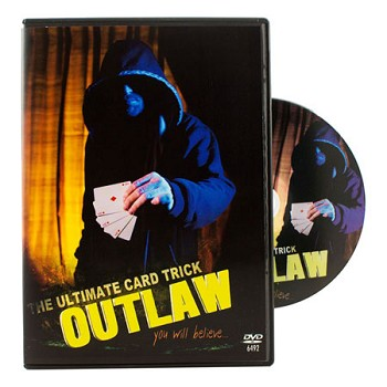 DISCONTINUED Outlaw Card Trick with DVD