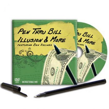 Pen Thru Bill with DVD