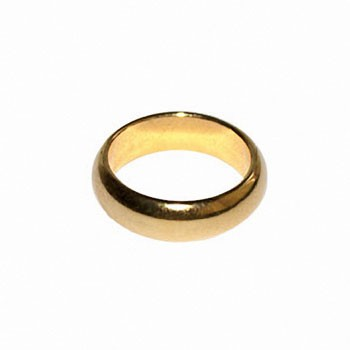 DISCONTINUED PK Ring - Gold Size 12.5