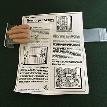 SOLD Powell Newspaper Seance Gimmick - PREOWNED