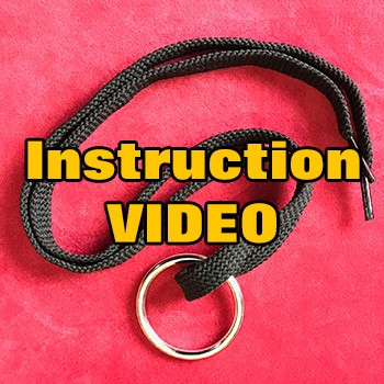ONLINE VIDEO: Ring On Shoelace