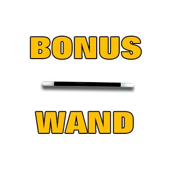 "FREE- 4"" Wand for Adams Shrinking Dice"