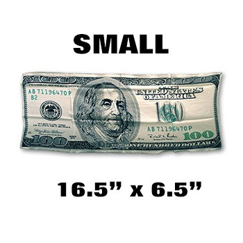 Silk- $100 Bill - SMALL 18-Inch