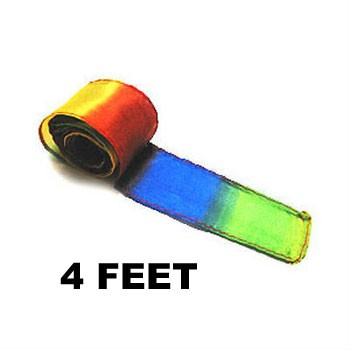 Rainbow Silk Streamer - 4 foot