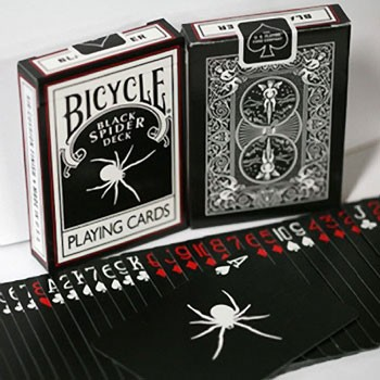 DISCONTINUED Spider Black Deck with BONUS Cards