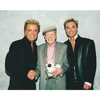 Siegfried and Roy Photo with Don Knotts