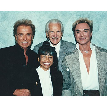 Siegfried and Roy Photo with John Calvert