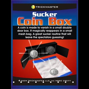 Sucker Coin Box