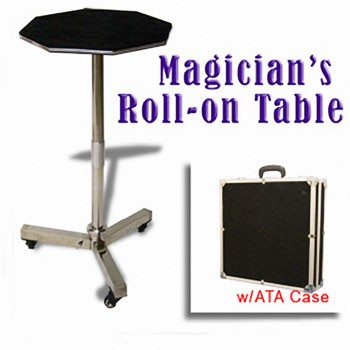 DISCONTINUED Table- Rolling Steel + BONUS CASE