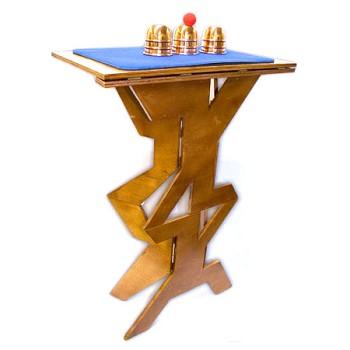 DISCONTINUED Table- Folding Wood Zig Zag