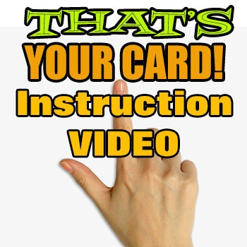 ONLINE VIDEO: That's Your Card Trio Of Tricks